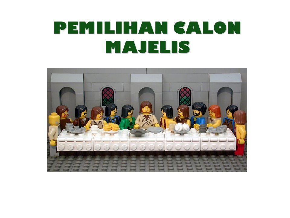 PEMILIHAN CALON MAJELIS