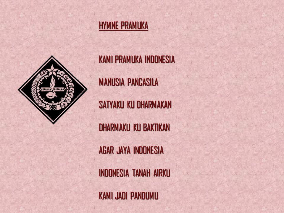 INDONESIA RAYA INDONESIA TANAH AIRKU TANAH TUMPAH DARAHKU DI SANALAH AKU BERDIRI JADI PANDU IBUKU INDONESIA KEBANGSAANKU BANGSA DAN TANAH AIRKU MARILA