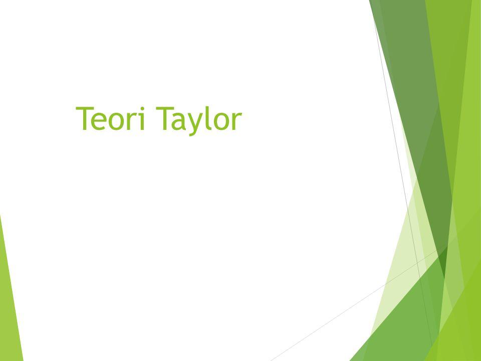 Teori Taylor