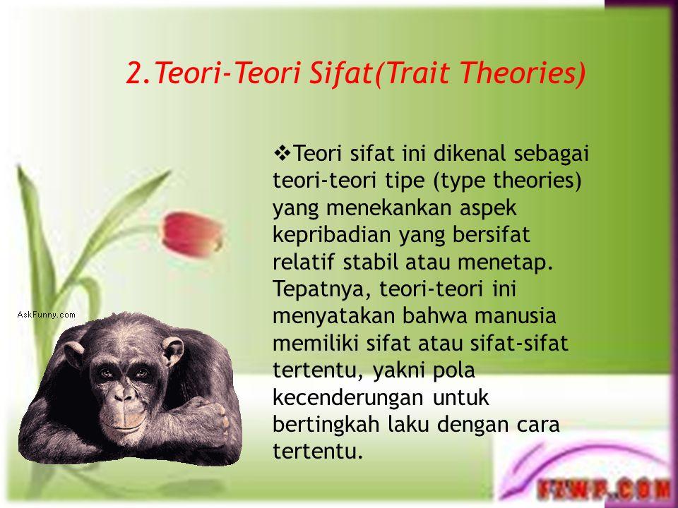 1. Teori Kepribadian Psikoanalisis Konflik dasar dari tiga sistem kepribadian tersebut menciptakan energi psikis individu. Energi dasar ini menjadi ke