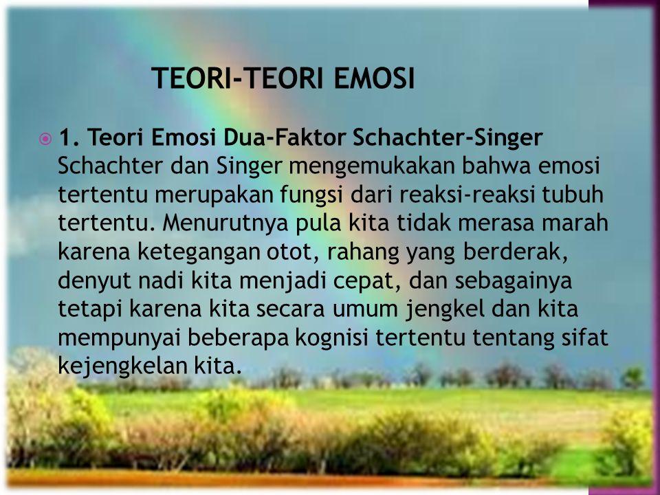  Dari mana kata emosi berasal? Kata emosi adalah kata serapan dari bahasa inggris, yakni 'emotion'. Dalam kamus, kata 'emotion' digunakan untuk mengg