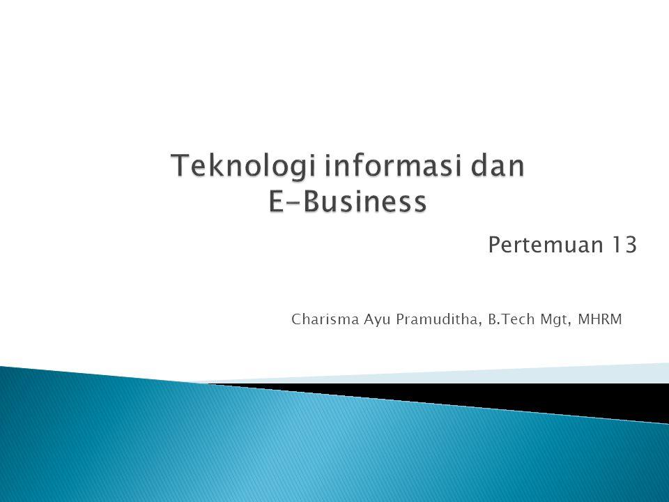 Charisma Ayu Pramuditha, B.Tech Mgt, MHRM Pertemuan 13