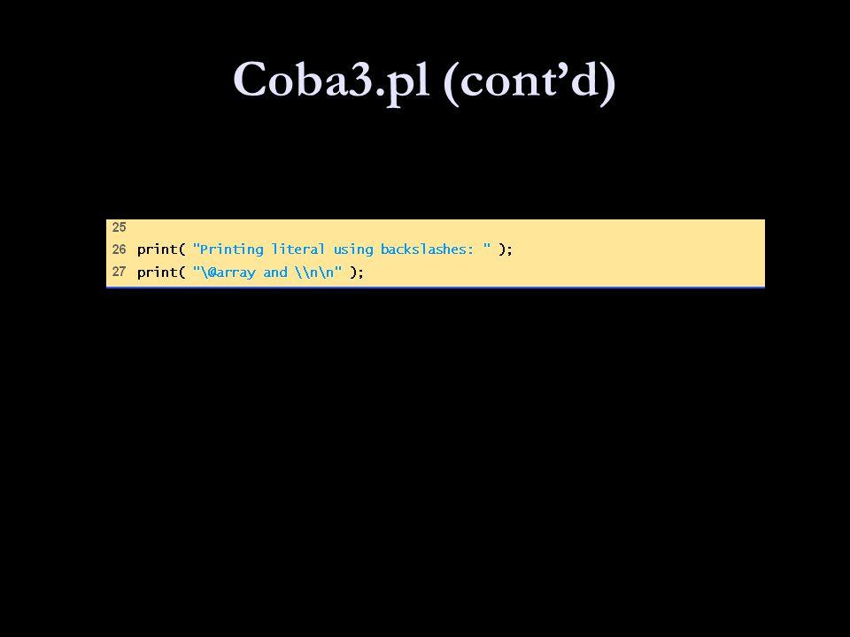 Coba3.pl (cont'd)