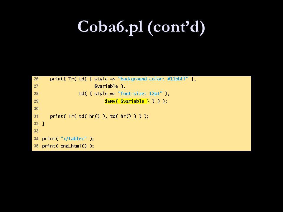 Coba6.pl (cont'd)