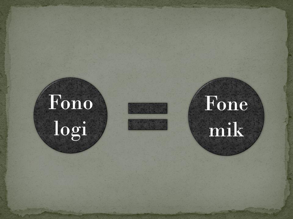 Fono logi Fone mik