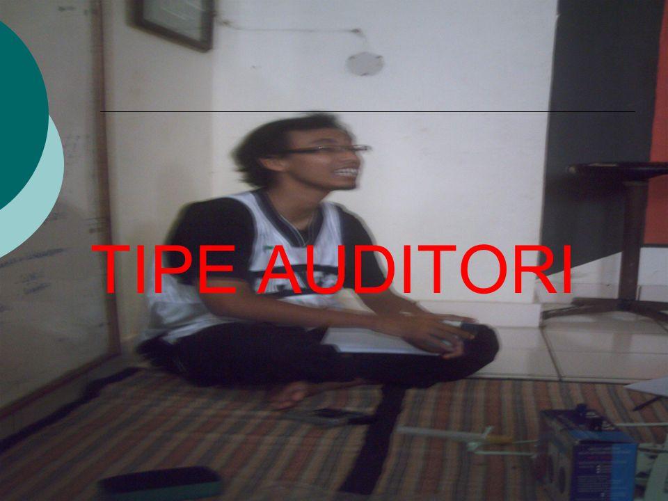 TIPE AUDITORI
