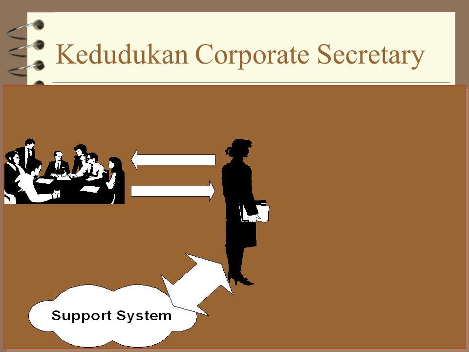 Peran Corporate Secretary Pintu Gerbang Informasi Distributor Informasi