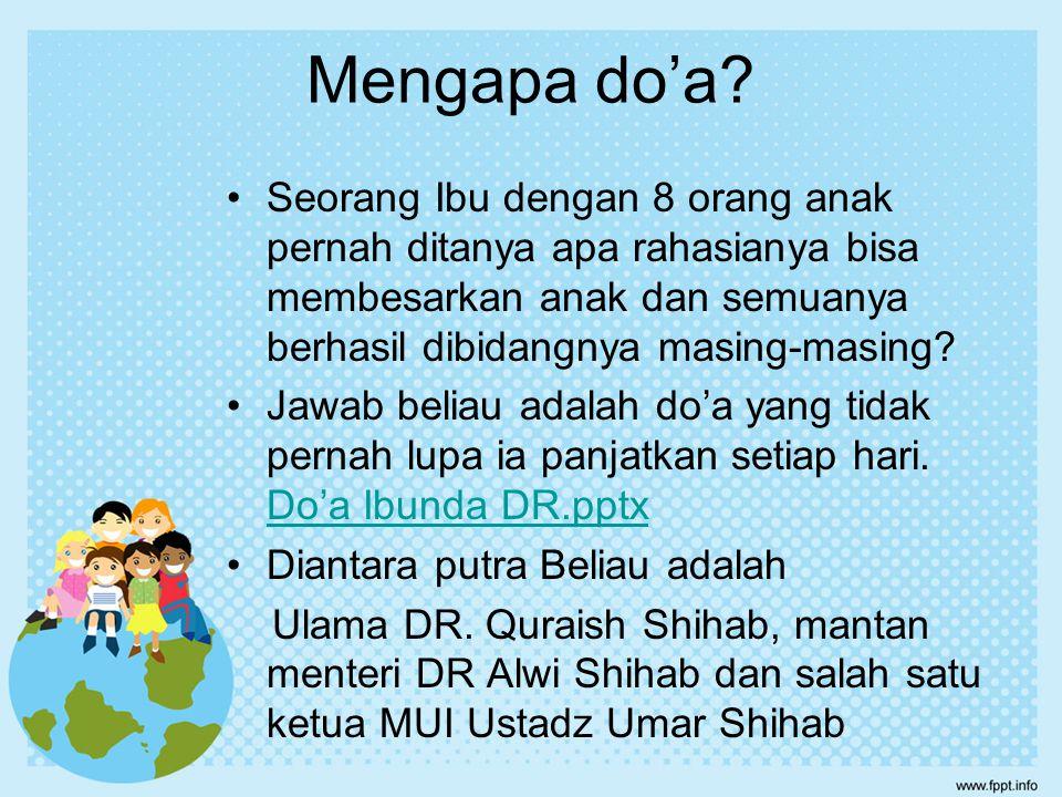 Mengapa Membaca Al Qur'an.