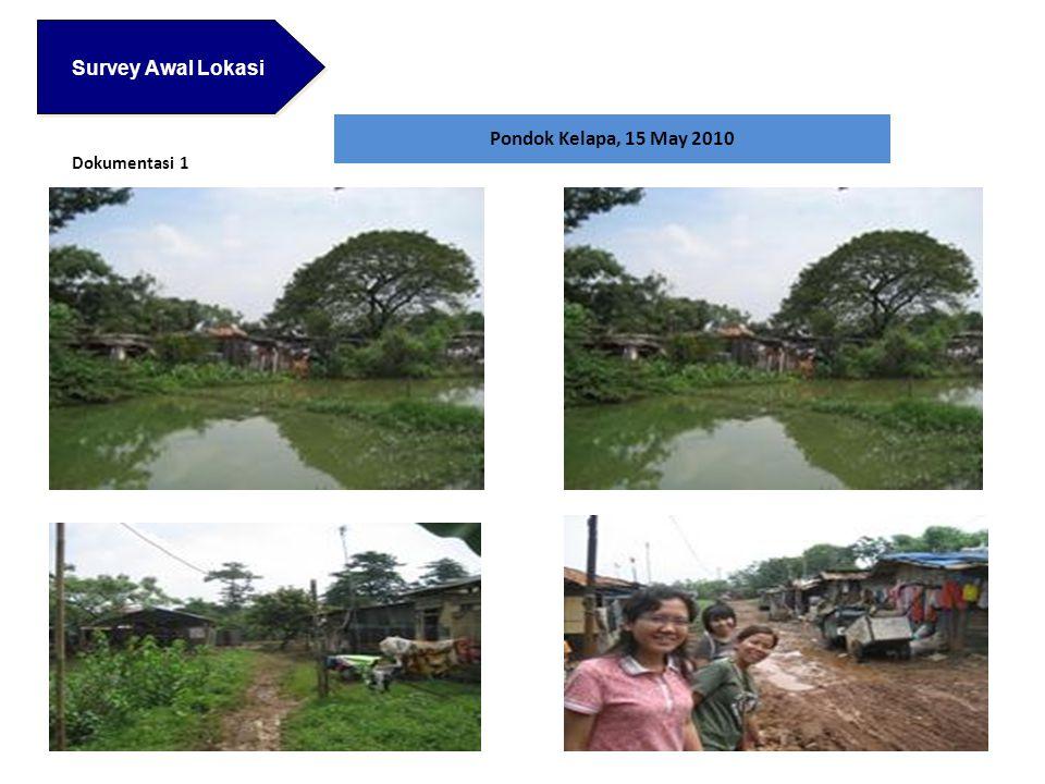Survey Awal Lokasi Survey Awal Lokasi Pondok Kelapa, 15 May 2010 Dokumentasi 1