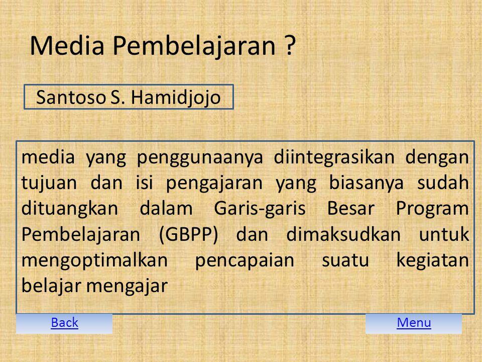 Media Pembelajaran .Santoso S.