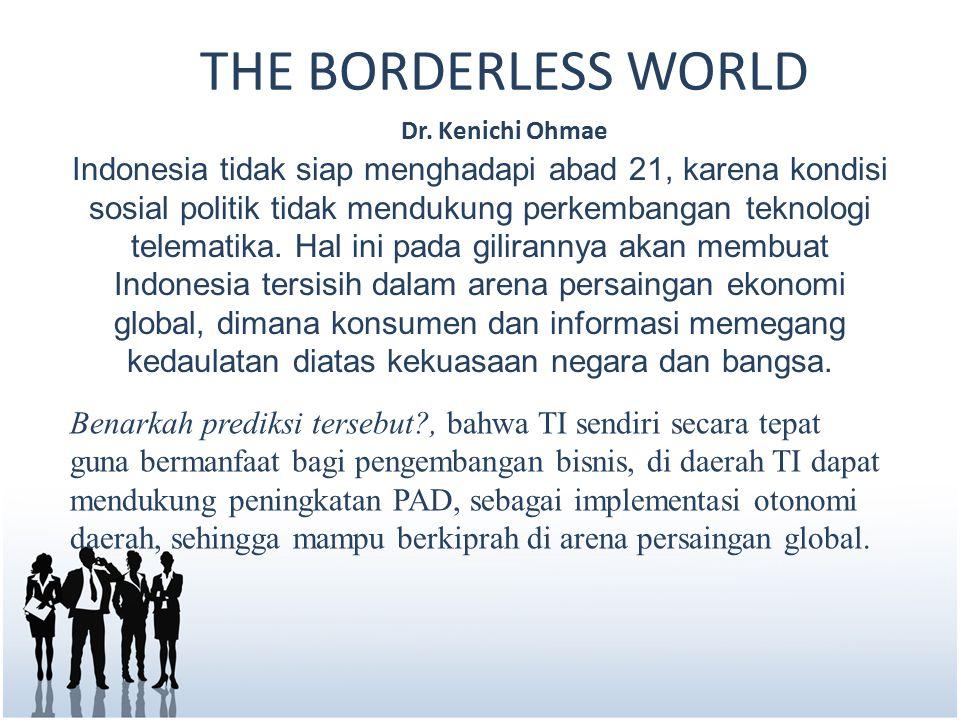THE BORDERLESS WORLD Dr.