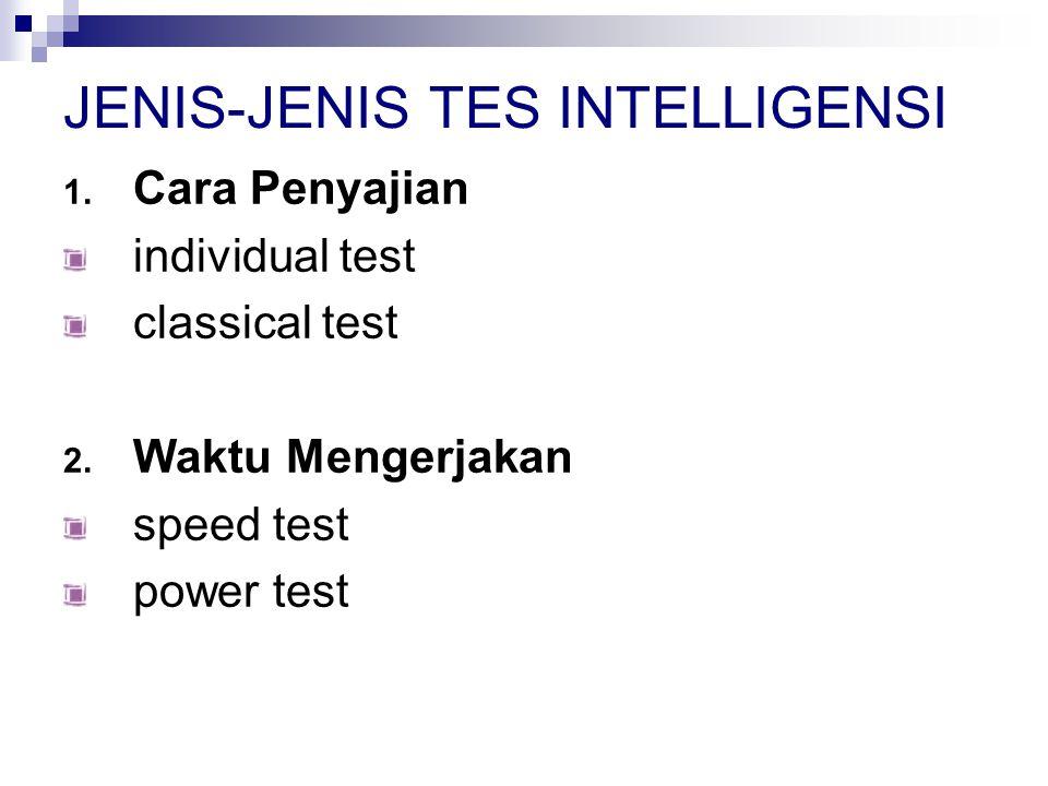 3.Cara Mengerjakan verbal test paper and pencil test + performance test 4.