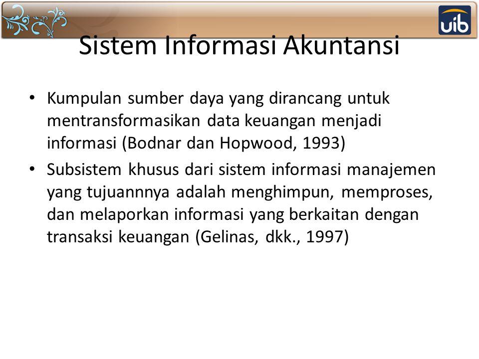 Sistem Pemrosesan Transaksi (SPT) Sistem informasi yang pertama kali diimplementasikan Fokus utama pada data transaksi Sesuai dengan namanya, sistem informasi ini digunakan untuk menghimpun, menyimpan, dan memproses data transaksi serta kadangkala mengendalikan keputusan yang merupakan bagian dari transaksi.