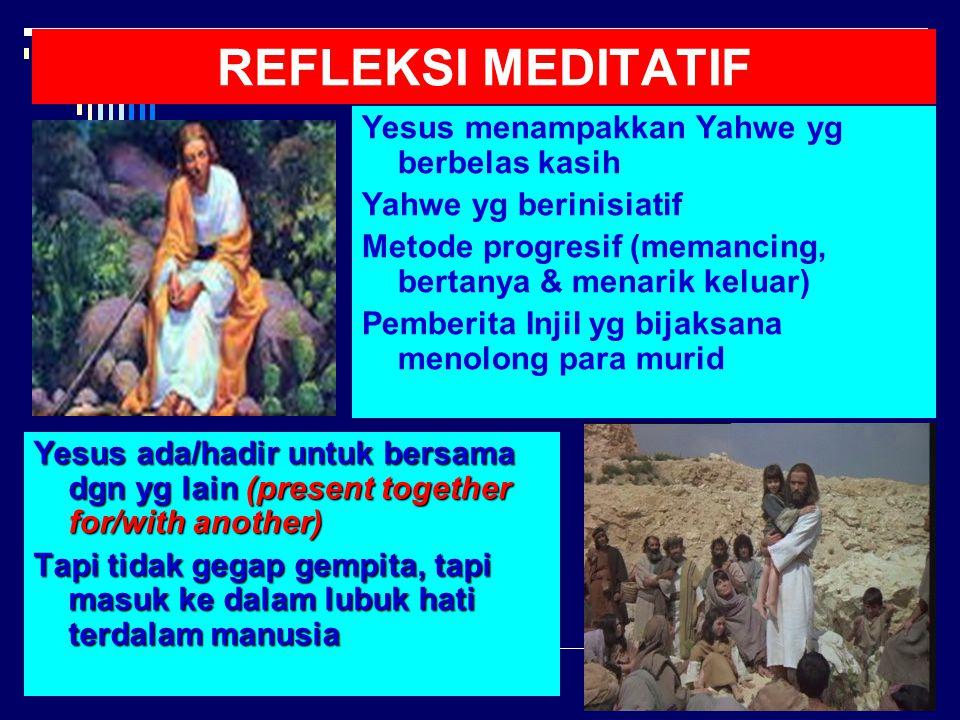 KRISIS PEMBERITA INJIL  APA YG DILAKUKAN YESUS.