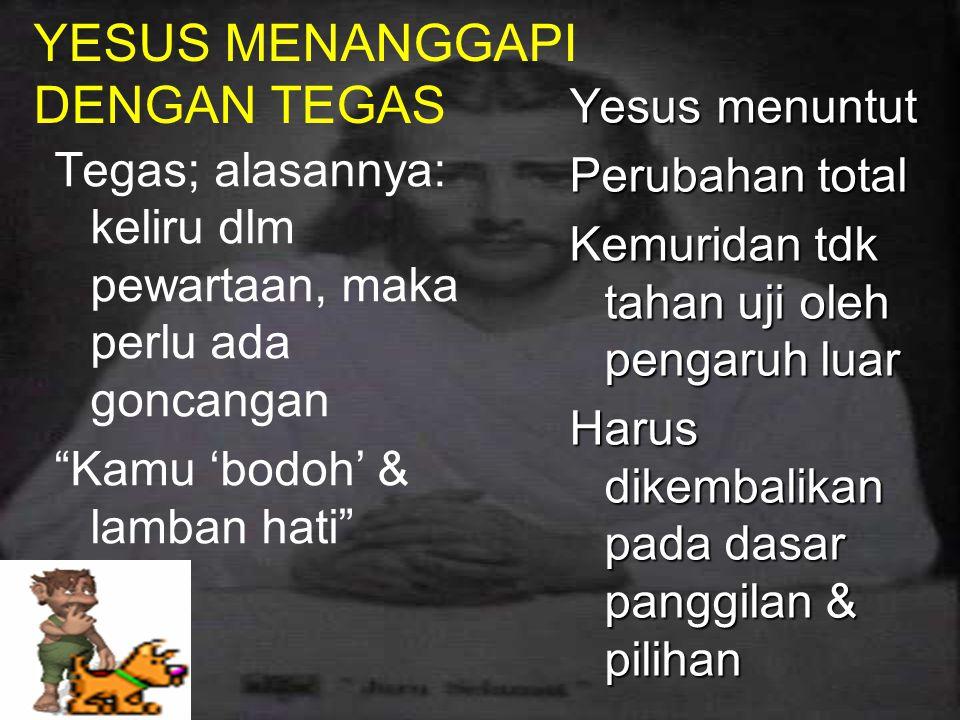 REFLEKSI MEDITATIF TANGGAPAN YESUS DGN PEWARTAAN LENGKAP 2.