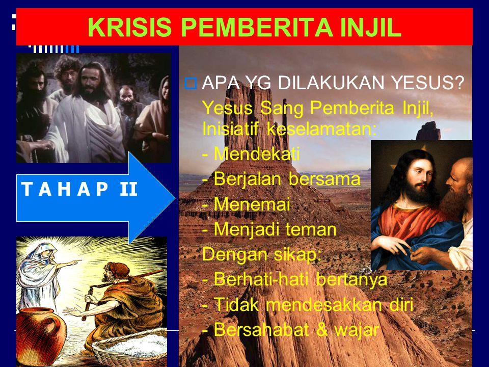 KRISIS PEMBERITA INJIL E M A U S  Du0 murid pulkam: Siapa mereka: Kleopas (Kleopatros), yg satu…...