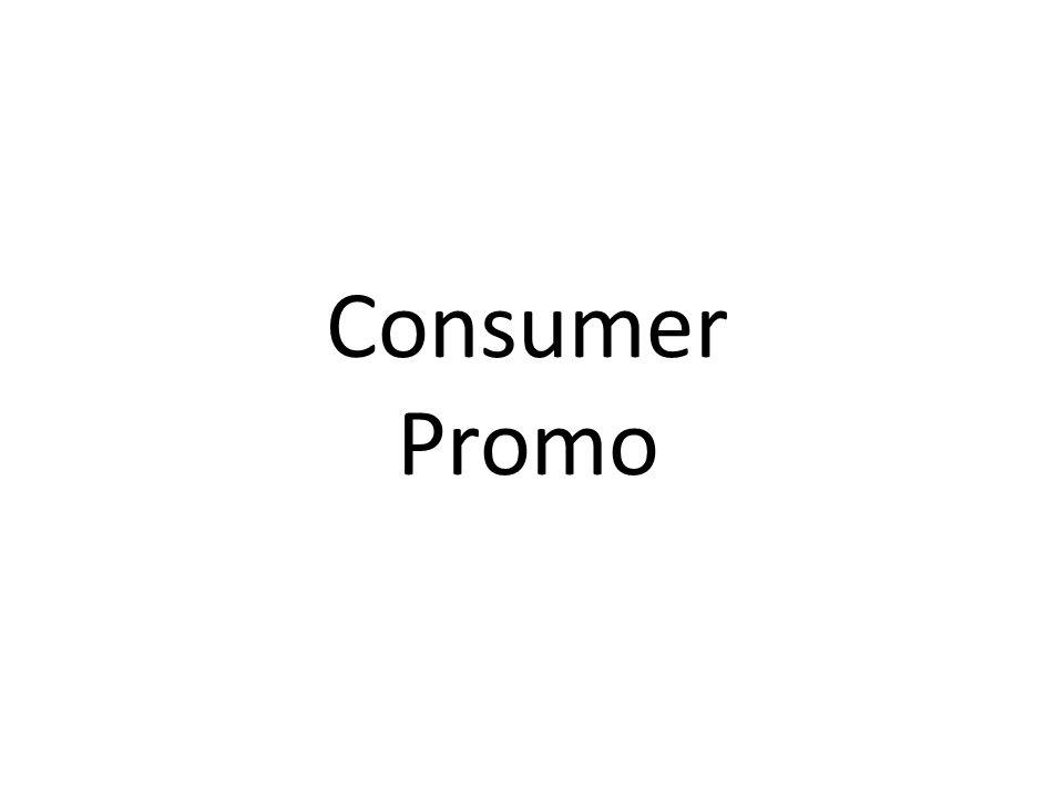Consumer Promo