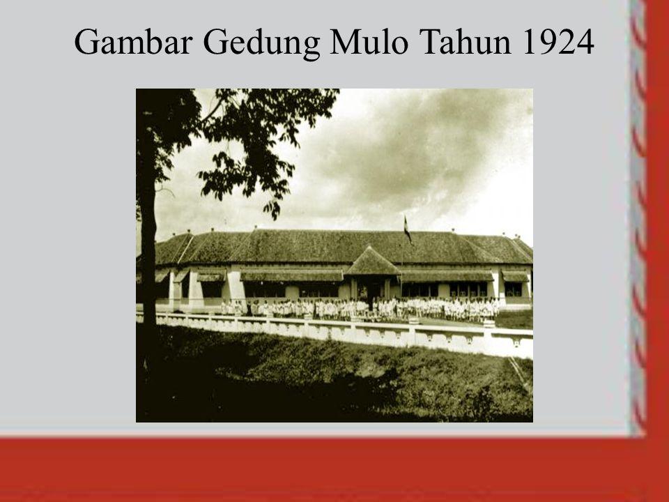 Gambar Gedung Mulo Tahun 1924