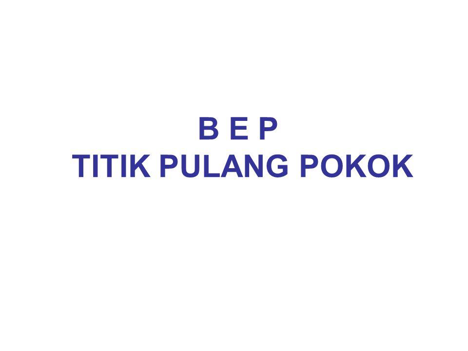 B E P TITIK PULANG POKOK