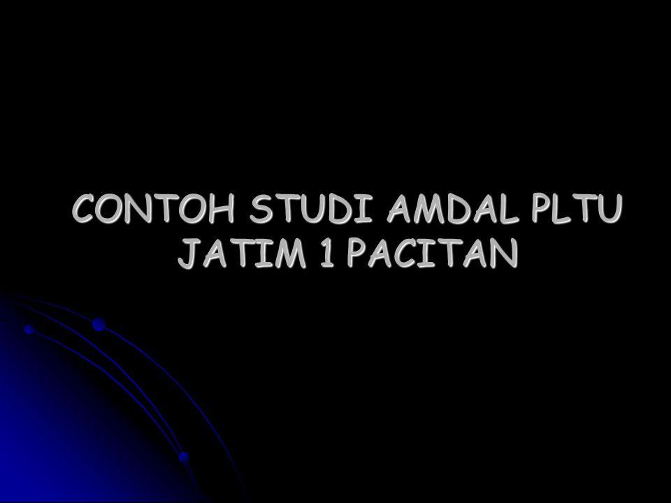 CONTOH STUDI AMDAL PLTU JATIM 1 PACITAN