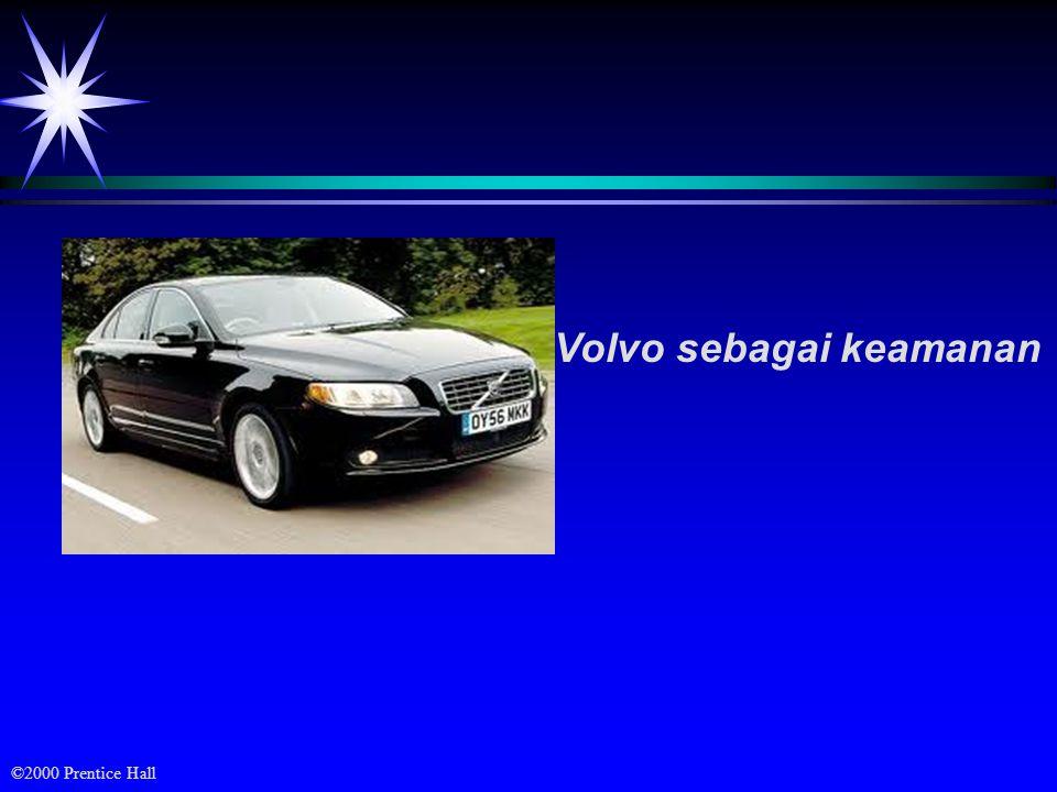 ©2000 Prentice Hall Volvo sebagai keamanan