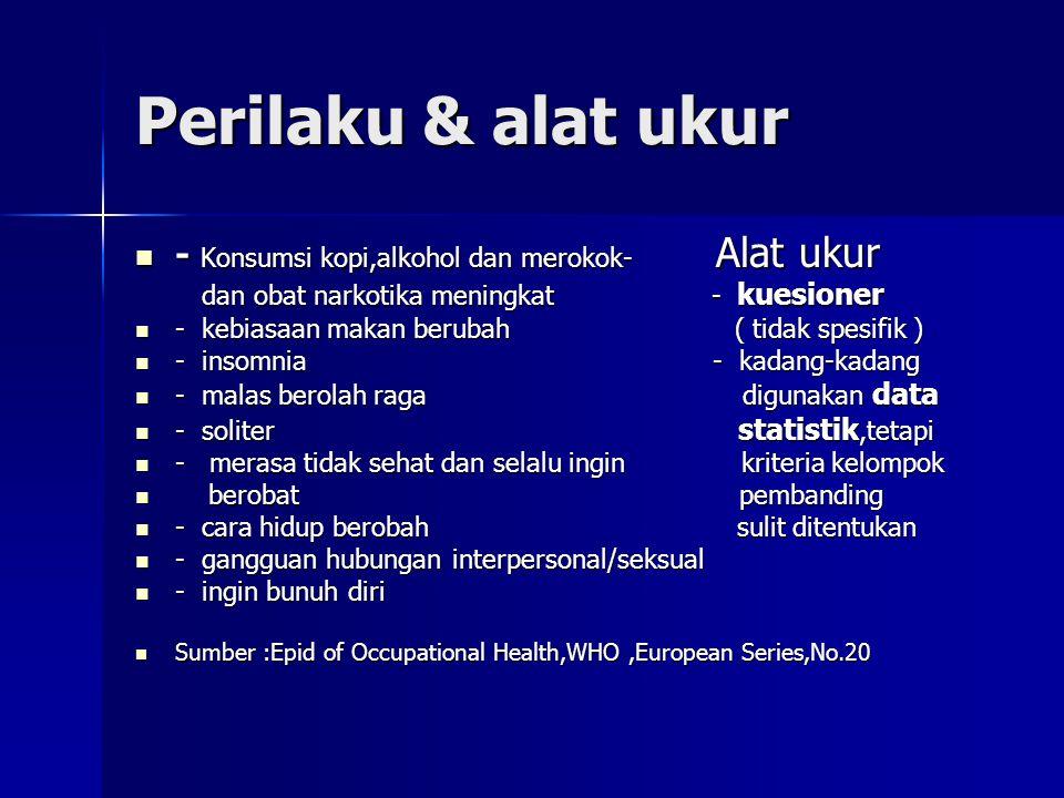 Gelaja psikologis stres kerja/alat ukur - Maniko-depresiva  - kuesioner - Maniko-depresiva  - kuesioner - neurosis - pemeriksaan - neurosis - pemeriksaan - psikosomatis klinis - psikosomatis klinis