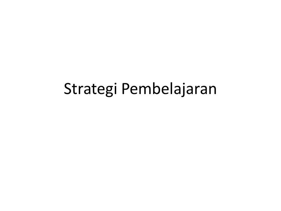 Pustaka Abu Ahmadi dan Joko Tri Prasetya.Strategi Belajar Mengajar.
