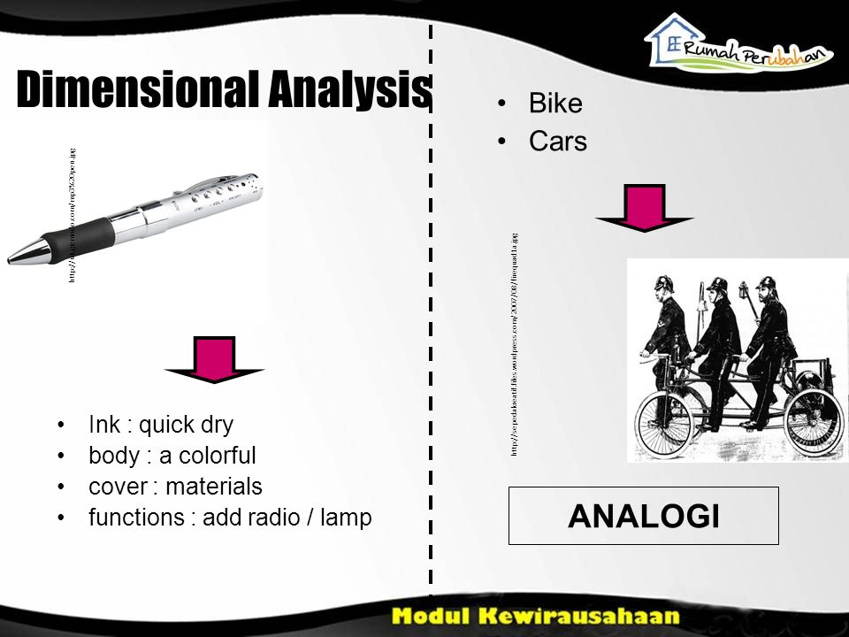 Dimensional Analysis ANALOGI Ink : quick dry body : a colorful cover : materials functions : add radio / lamp Bike Cars http://uk.gizmodo.com/mp3%20pe