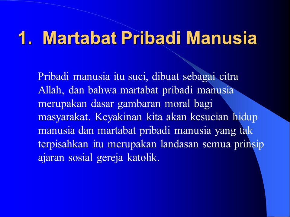 Tema Besar dari ASG 1.Martabat Pribadi Manusia 2.Komunitas (Kesejahteraan Bersama) 3.Hak-hak dan Kewajiban-kewajiban 4.Keberpihakan pada kaum miskin 5.Subsidiaritas/Partisipasi 6.Keadilan Ekonomi 7.Menjaga Keutuhan Ciptaan / Humanisme Integral 8.Solidaritas 9.Peran Pemerintah 10.Promosi Perdamaian