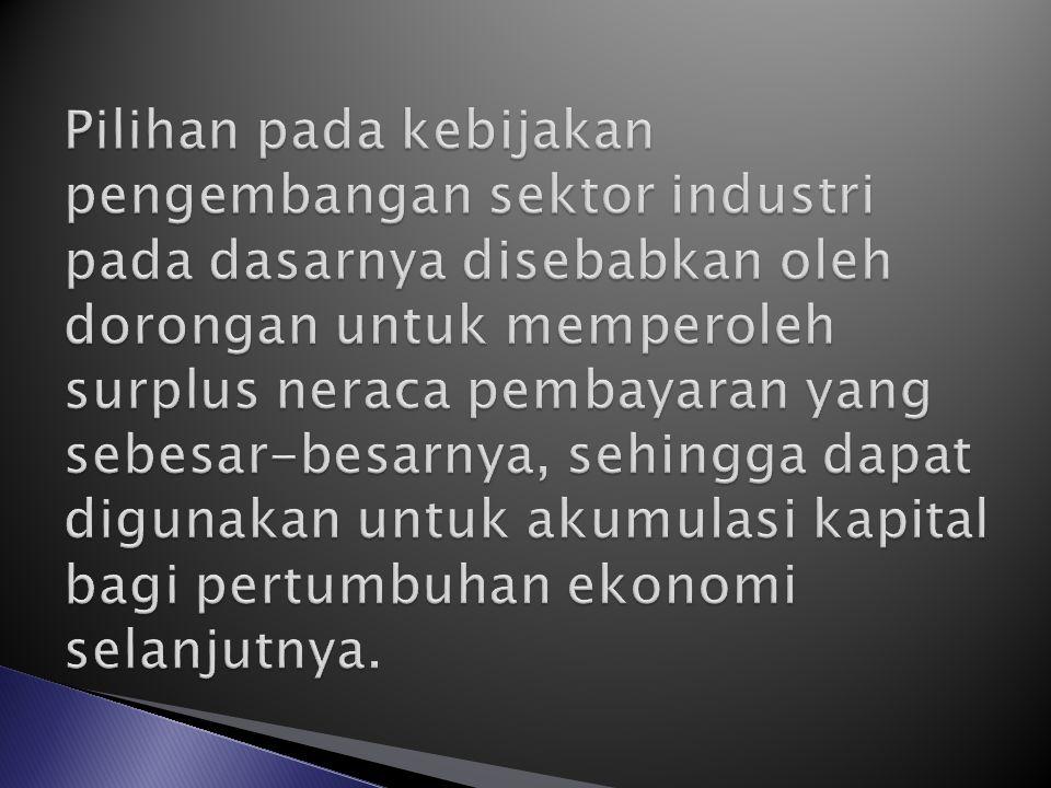 Negara Kaya sumber daya alam Negara Miskin Sumberdaya Alam Pasar luar negri (campur tangan pemerintah) Pasar dalam negri (pasar bebas) Produksi Dalam Negri