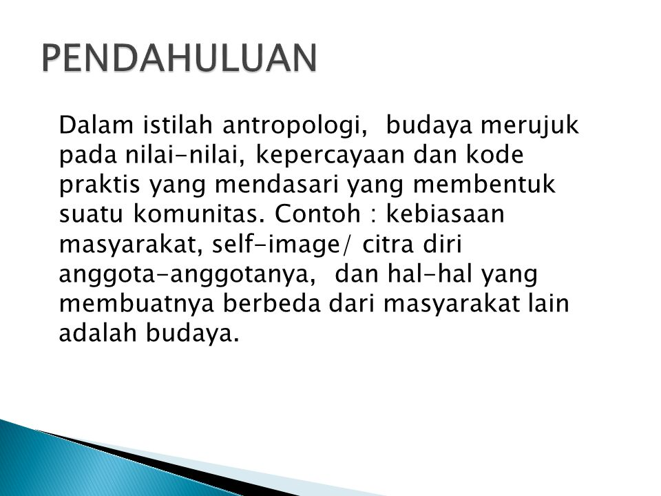No.Level KulturDeskripsi 1ArtifakStruktur dan proses organisasi yang nampak.