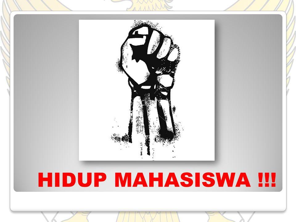 HIDUP MAHASISWA !!!