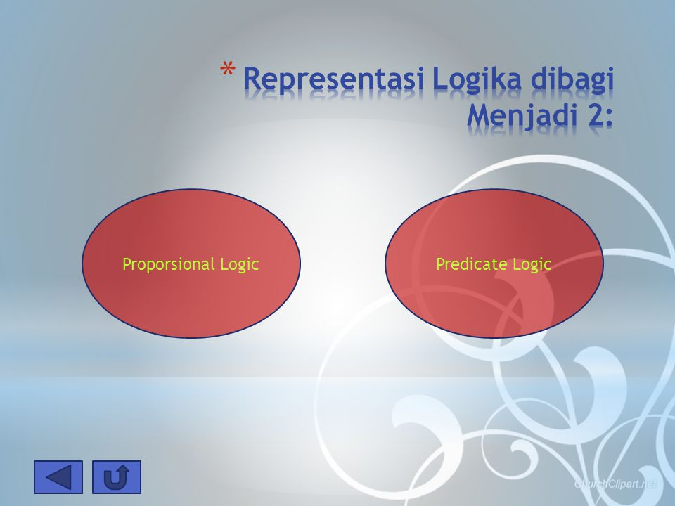 Proporsional LogicPredicate Logic