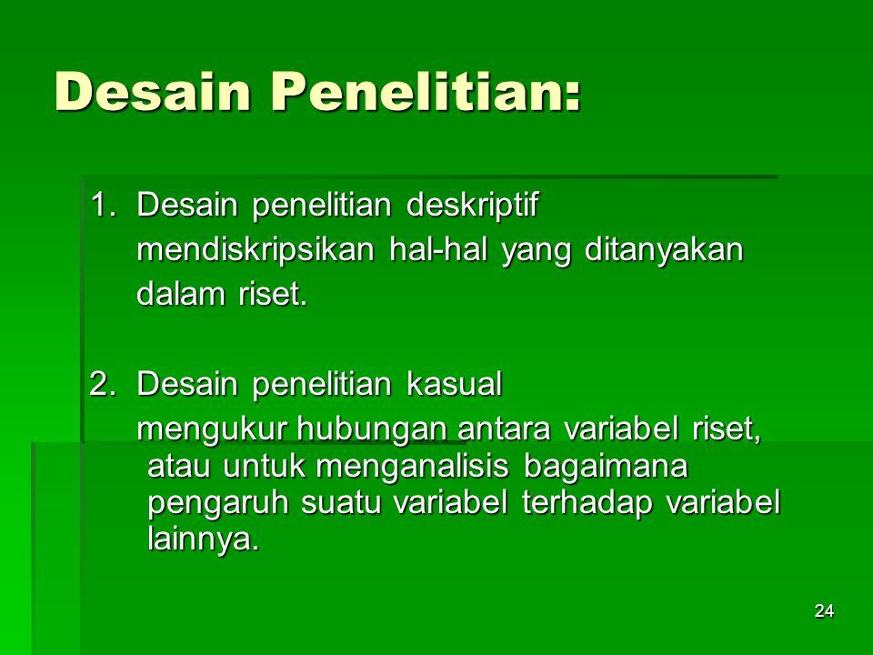 23 Hipotesis Penelitian 3.