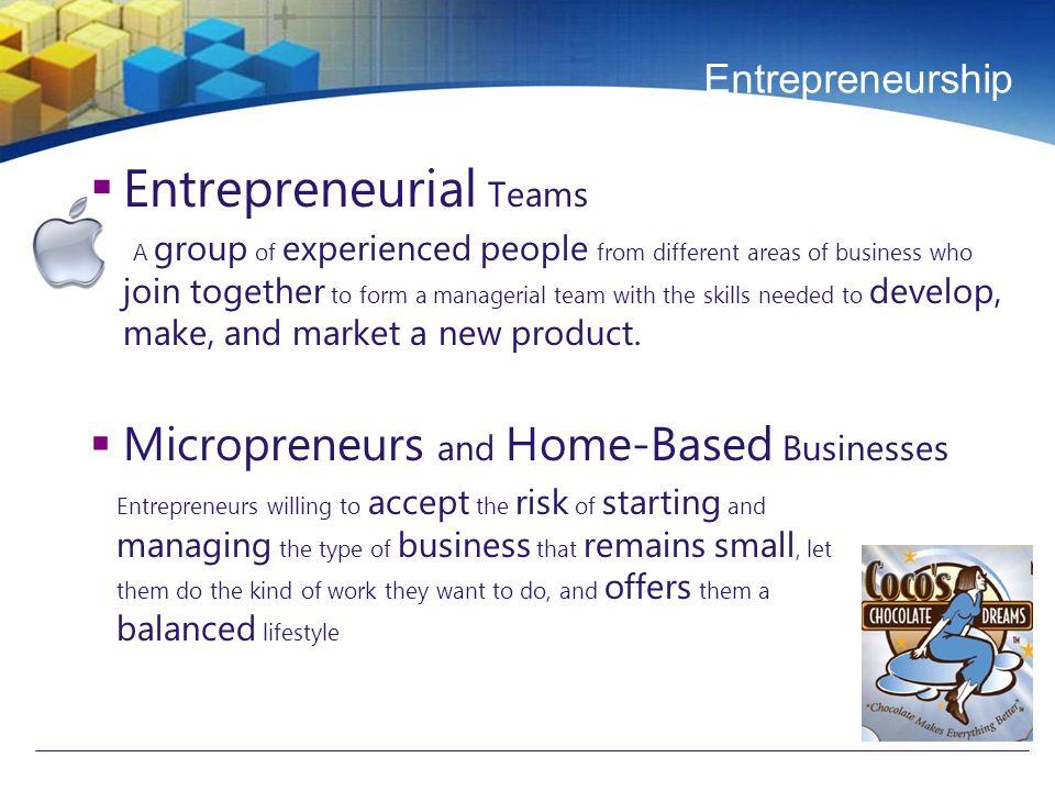 Entrepreneurship  Web-Based Businesses New channel (internet) based business development  Intrapreneurs Creative people who work as entrepreneurs within corporations