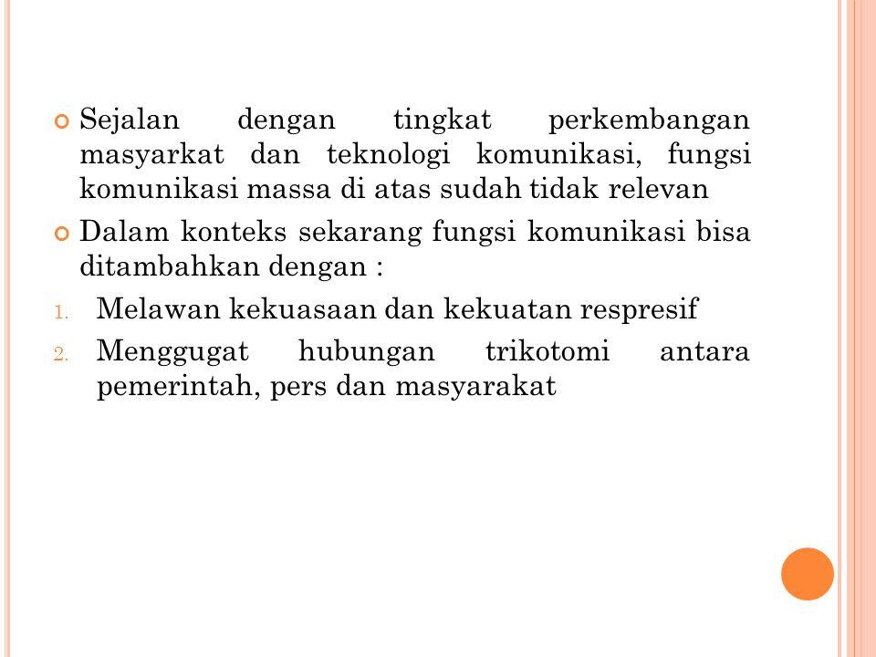 MasyarakatPersPemerintahEra Gus Dur - Megawati