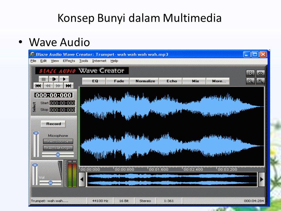 Konsep Bunyi dalam Multimedia Wave Audio