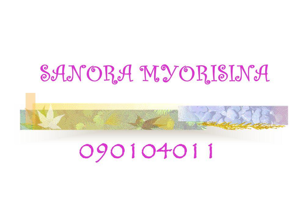 SANORA MYORISINA 090104011