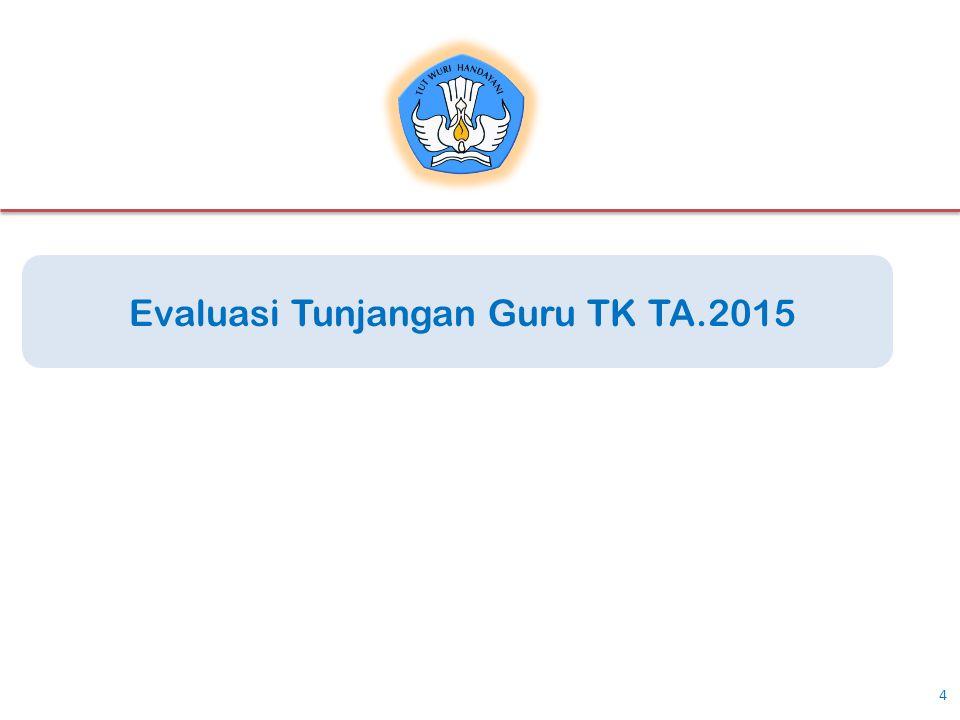 4 Evaluasi Tunjangan Guru TK TA.2015