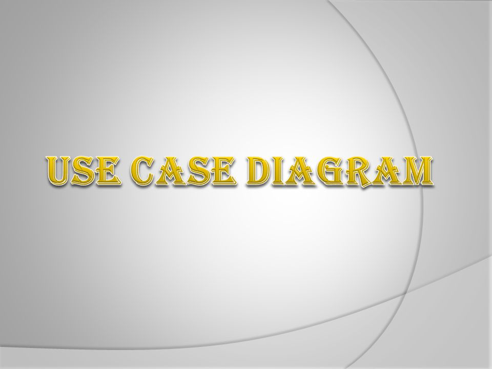 Use Case Diagram Apa Benar ? 32