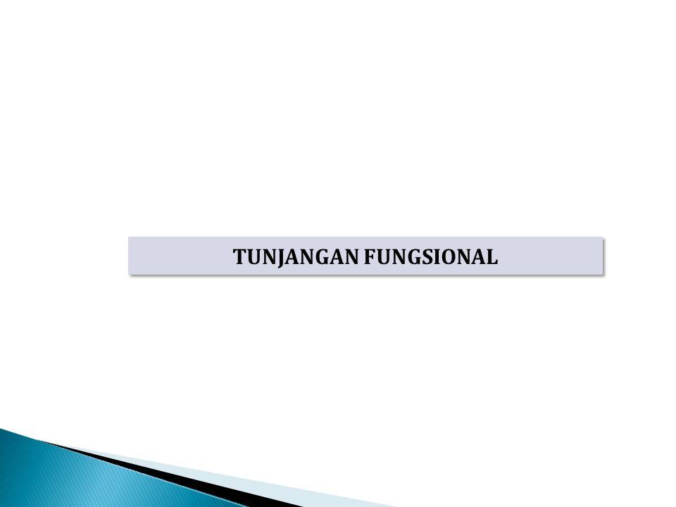 TUNJANGAN FUNGSIONAL
