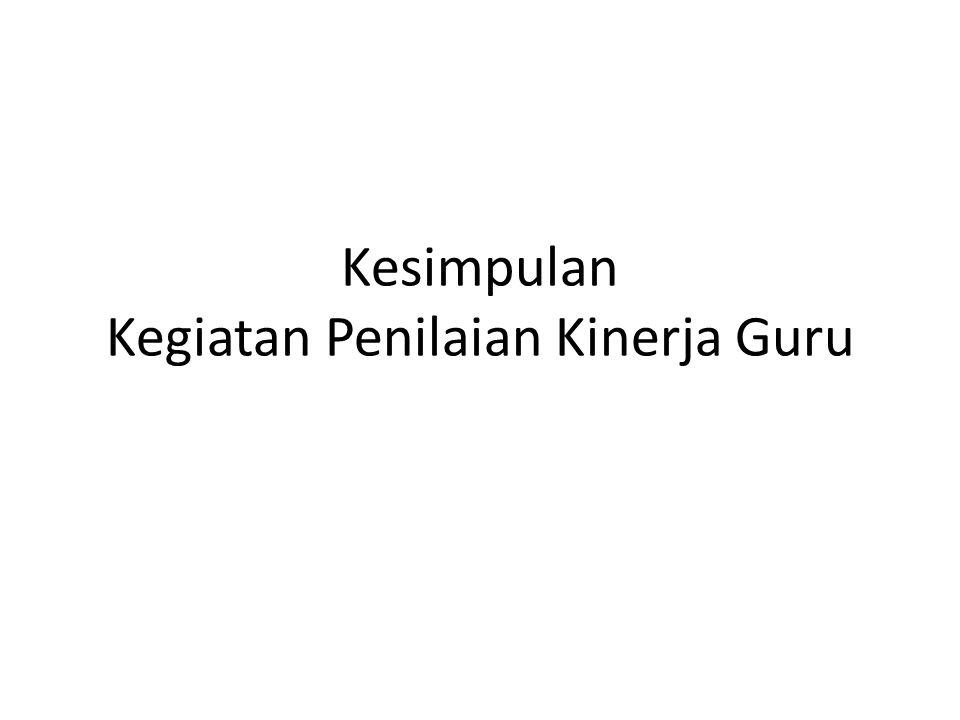 Jenis Penilaian PK Guru Formatif PK GURU formatif digunakan untuk menyusun profil kinerja guru.