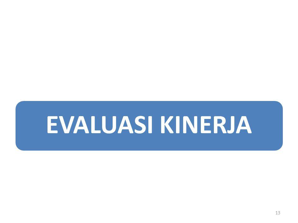 EVALUASI KINERJA 13