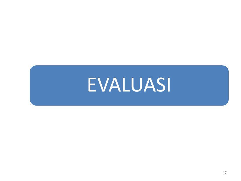 EVALUASI 17