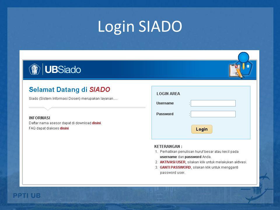 SIDEA http://sidea.ub.ac.id Sistem Informasi Data Elektronik Akreditasi – Berisi data-data akreditasi seluruh prodi di UB – Standar borang BAN-PT – Dapat direview secara online oleh asesor internal