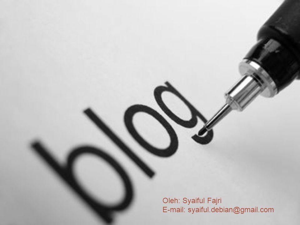 Jalan pintas untuk membuat sebuah posting dapat Anda jumpai pada halaman Dasbor, lihatlah bagian Tulis Cepat, Anda bisa langsung mengisi Judul dan Isi dari Tulisan, kemudian menerbitkannya.