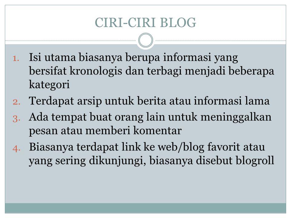 CIRI-CIRI BLOG 1.