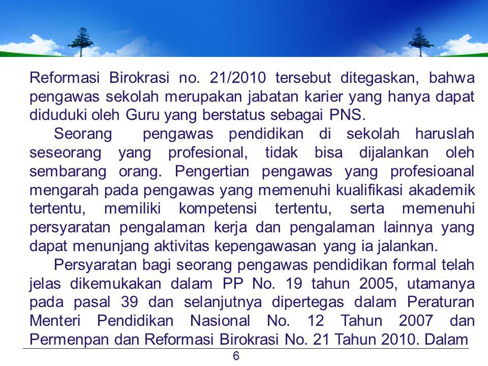 Reformasi Birokrasi no.