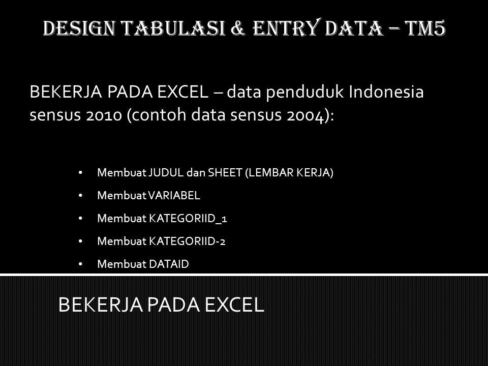 DATA ENTRY PADA EXCEL: Proses (tricks) copy data dari file pdf ke excel BEKERJA PADA EXCEL DESIGN TABULASI & ENTRY DATA – TM5