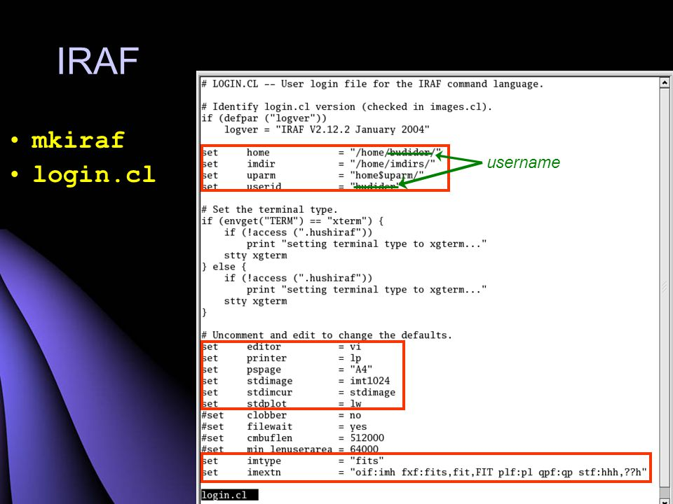 xgterm & ds9 Terminal & display gambar
